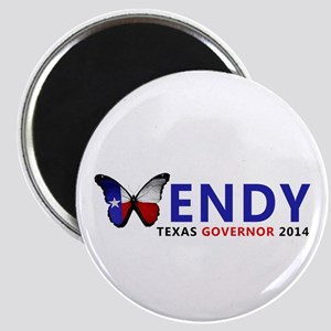 Texas Governor Butterfly Wendy Davis 2014 Magnets