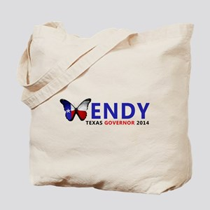 Texas Governor Butterfly Wendy Davis 2014 Tote Bag