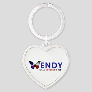 Texas Governor Butterfly Wendy Davis 2014 Keychain