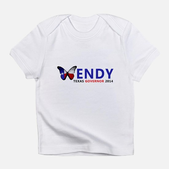Texas Governor Butterfly Wendy Davis 2014 Infant T