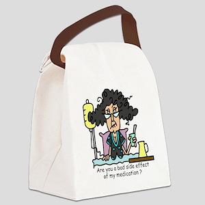 Medication Side Effect Canvas Lunch Bag