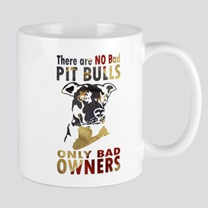 NO BAD PIT BULLS AF4 Mugs