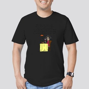 Men and Fine Wine Men's Fitted T-Shirt (dark)