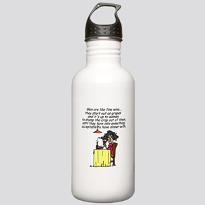 Men and Fine Wine Stainless Water Bottle 1.0L