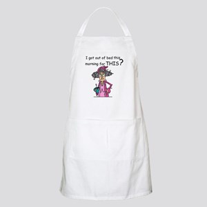 Hate Mornings Apron