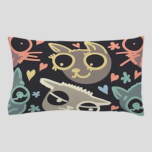 Crazy Cats Pillow Case