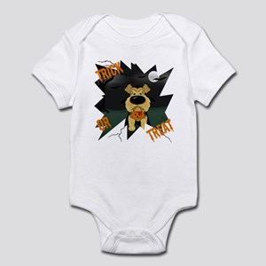 Airedale Vampire Halloween Infant Bodysuit