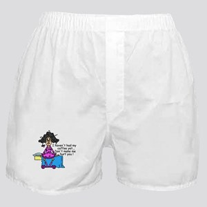 Need Coffee Boxer Shorts