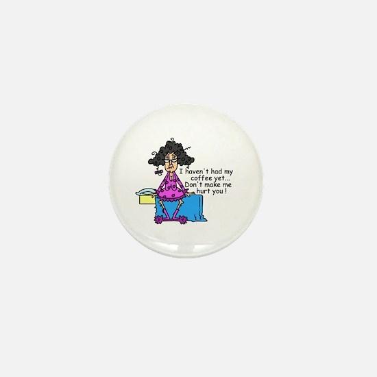 Need Coffee Mini Button