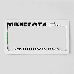 MN NORML Logo (white backgrou License Plate Holder