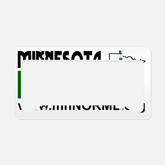 MN NORML Logo (white backgrou License Plate Holder