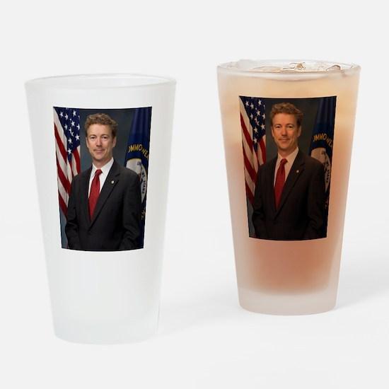 Rand Paul, Republican US Senator Drinking Glass