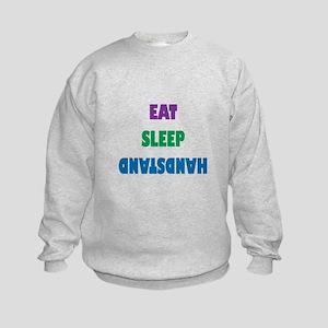 Eat Sleep Handstand Sweatshirt