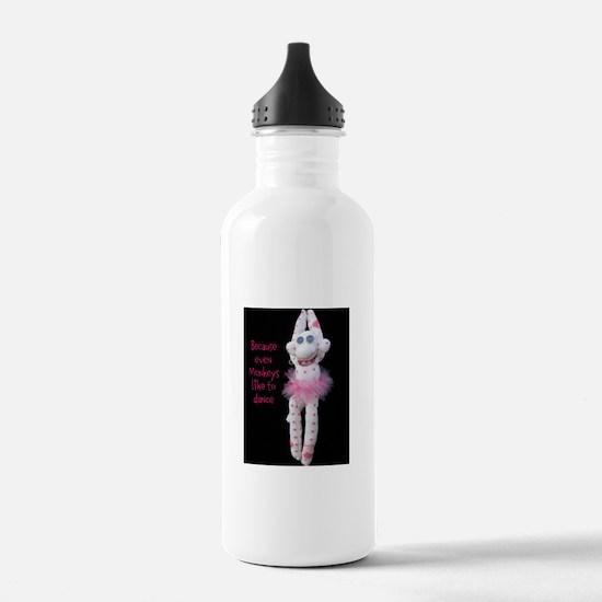 Monkeys Dance Water Bottle