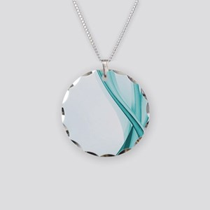 Contemporary Turquoise Streamers Necklace