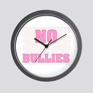 It Takes U to Stop the Bullying Wall Clock