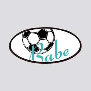 Soccer Babe Patches