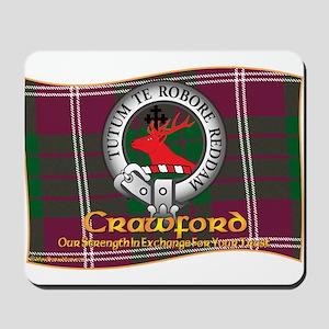 Crawford Clan Mousepad