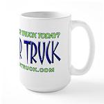 Beat Your Truck - Large Mug
