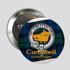 """Campbell Clan 2.25"""" Button"""