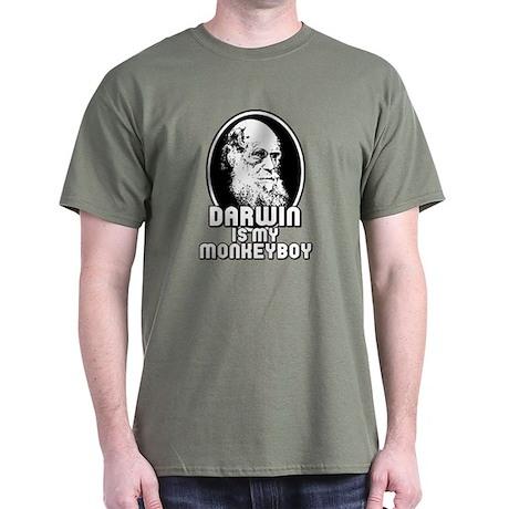 Darwin is my Monkeyboy Dark T-Shirt