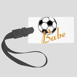 Soccer Babe Luggage Tag