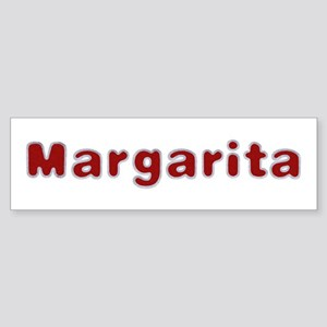 Margarita Santa Fur Bumper Sticker