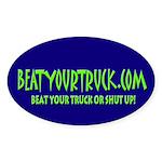 BYT Oval Sticker