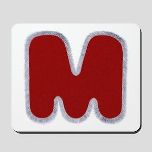 M Santa Fur Mousepad