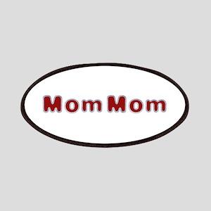MomMom Santa Fur Patch