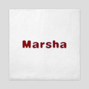 Marsha Santa Fur Queen Duvet