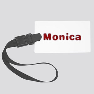 Monica Santa Fur Large Luggage Tag