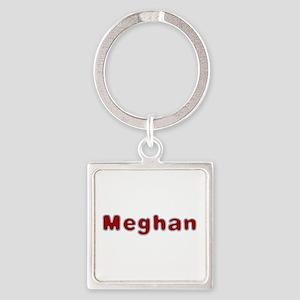 Meghan Santa Fur Square Keychain