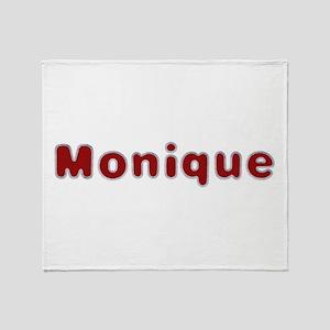 Monique Santa Fur Throw Blanket