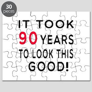 It Took 90 Birthday Designs Puzzle