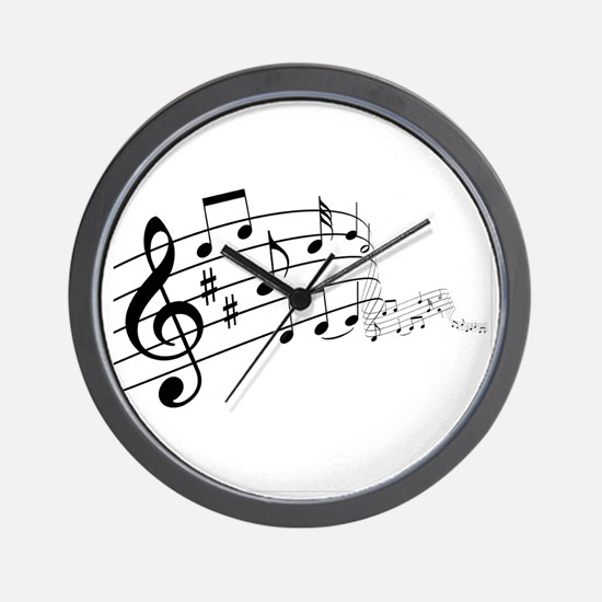 Musical Symbols Wall Clock
