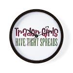 Trader Girls Wall Clock