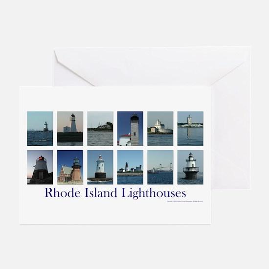 Rhode Island Lighthouses Notecards (Pk of 10)
