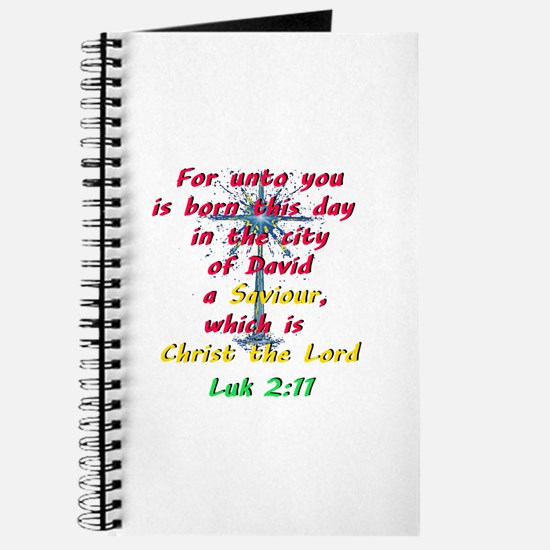 Saviour Christ the Lord Journal