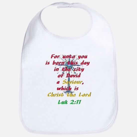Saviour Christ the Lord Bib