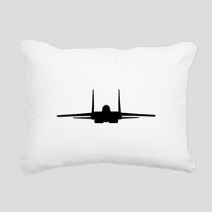 F-15 Eagle Rectangular Canvas Pillow