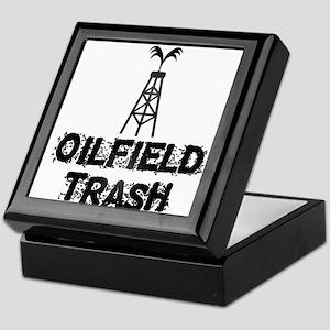 Oilfield Trash Keepsake Box