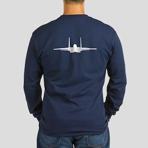 F-15 Eagle Long Sleeve Dark T-Shirt