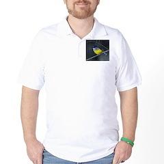 Yellow Robin Golf Shirt