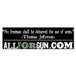 TJ Quote 2 Sticker (Bumper)