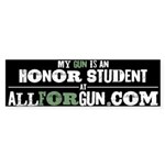 Honor Student Sticker (Bumper)