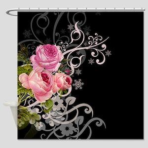 Rose Elegance Shower Curtain