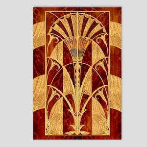 Harvest Moon's Art Deco Panel Postcards 8 Pack