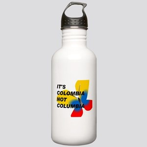 ITS COLOMBIA NOT COLUMBIA - FLAG Water Bottle