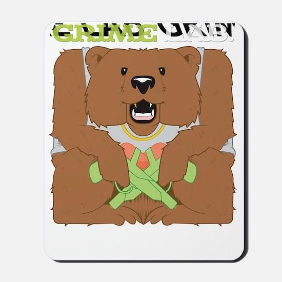Grime Lab Bear Mousepad